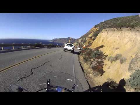 June and Tim Ride to Big Sur