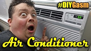 Installing 12,000 BTU Window Air Conditioner - #DIYGasm Ep. 1