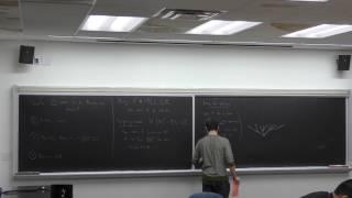 GSS Spring 2017 - Andrew Zucker: Ramsey theorems via ultrafilters