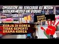 Pekerja Indonesia di Pabrik Pewarnaan Kain, Daegu South Korea