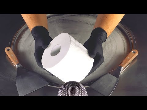 ASMR - Toilet Paper Roll Ice Cream | Ice Cream Rolls #StayHome & Roll #WithMe