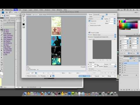 (39/44) Creating An Image Sprite In Photoshop