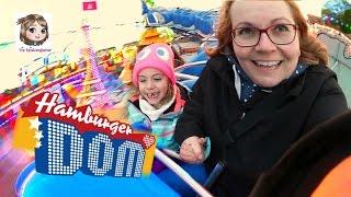 WIR GEHEN AUF DEN JAHRMARKT 🎡 Riesenrad und Achterbahn fahren 🎡 Hamburger Dom Besuch