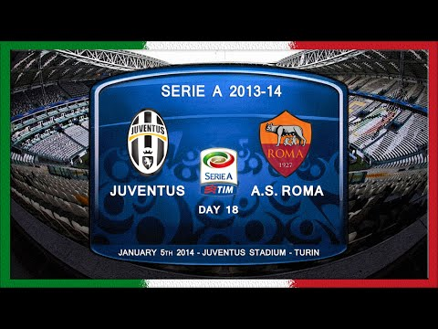 Serie A 2013-14, Juve - AS Roma (Full, RU)