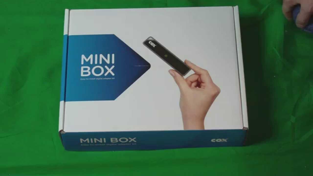 Cox Communications Cable Tv Mini Box Open Box Un Boxing Youtube