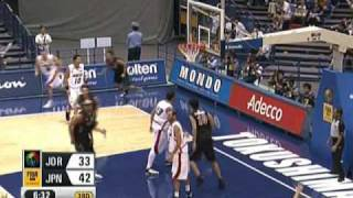 第24回FIBAアジア男子バスケットボール選手権大会 日本代表プレー集(対...