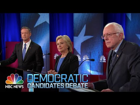 NBC News-YouTube Democratic Debate (Full) from YouTube · Duration:  1 hour 53 minutes 44 seconds