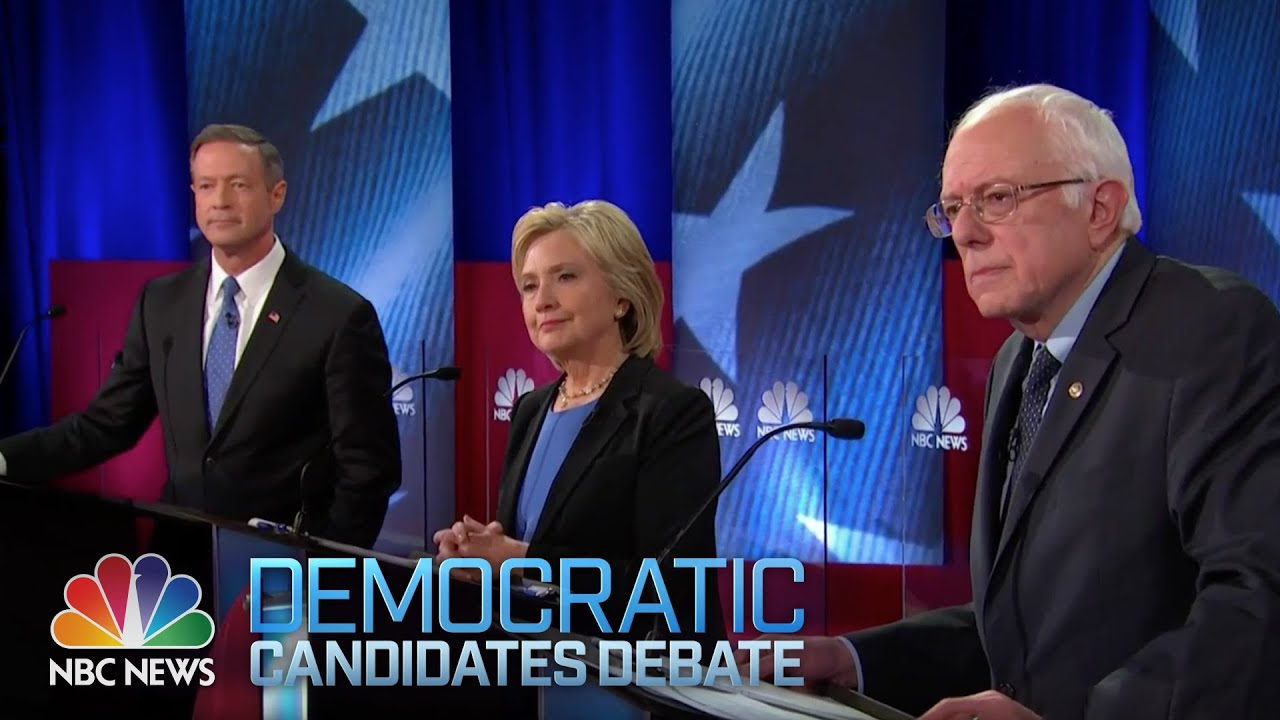 nbc news youtube democratic debate full youtube