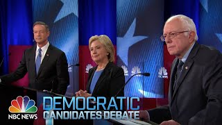NBC News-YouTube Democratic Debate (Full)(Join NBC News' Lester Holt, Andrea Mitchell, Chuck Todd and YouTube creators Connor Franta, Marques Brownlee, MinuteEarth and Franchesca Ramsey as ..., 2016-01-18T07:26:24.000Z)