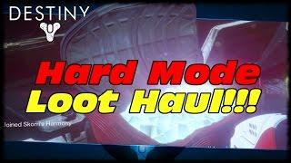 Destiny Hard Mode First Week Loot Drops x3!!!