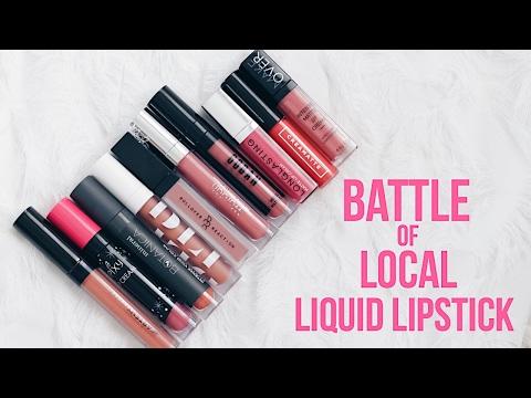 BEST & WORST Local Liquid Lipstick!