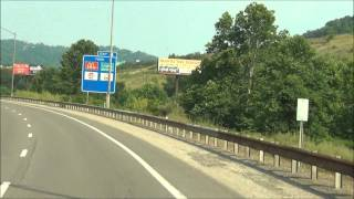 West Virginia - Interstate 70 East - Mile Marker 0-10 (6/21/12)
