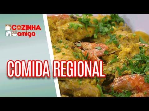 Frango Refogado Com Castanha E Farofa De Camarão - Patricia Gonçalves | Cozinha Amiga (30/05/18)
