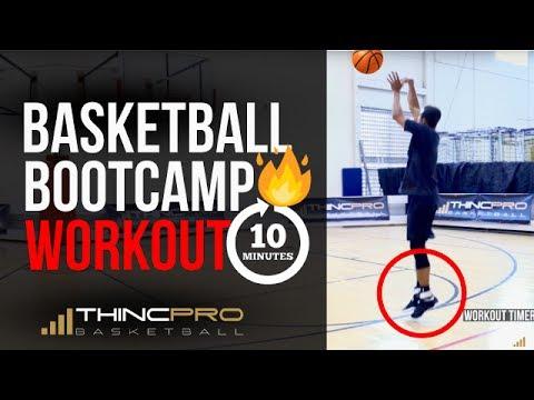 10 Minute Individual Basketball Workout - UNCUT (Off-Season Basketball Workout)