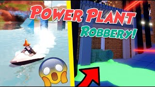 Jailbreak POWER PLANT ROBBERY Update! (Roblox Jailbreak Jet Ski, Boat, Uranium Robbery, New Vehicle)