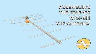 How to Assemble the Televes 106501 Yagi BIII Antenna