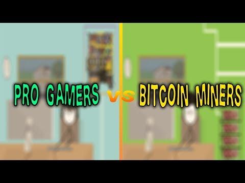 Gamers Vs Bitcoin Miners | Gemo Sapiens |