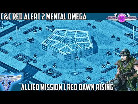 MENTAL OMEGA 3.3 - Allied Mission 1 RED DAWN RISING