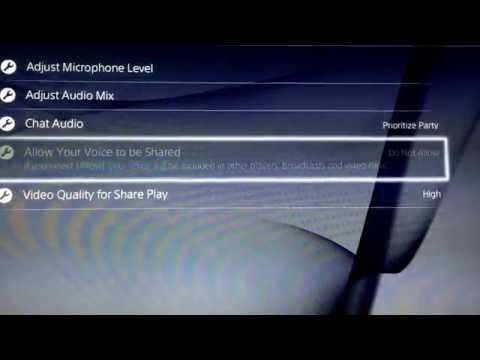 How To Record Other People Voice On The Ps4 + Live Streaming