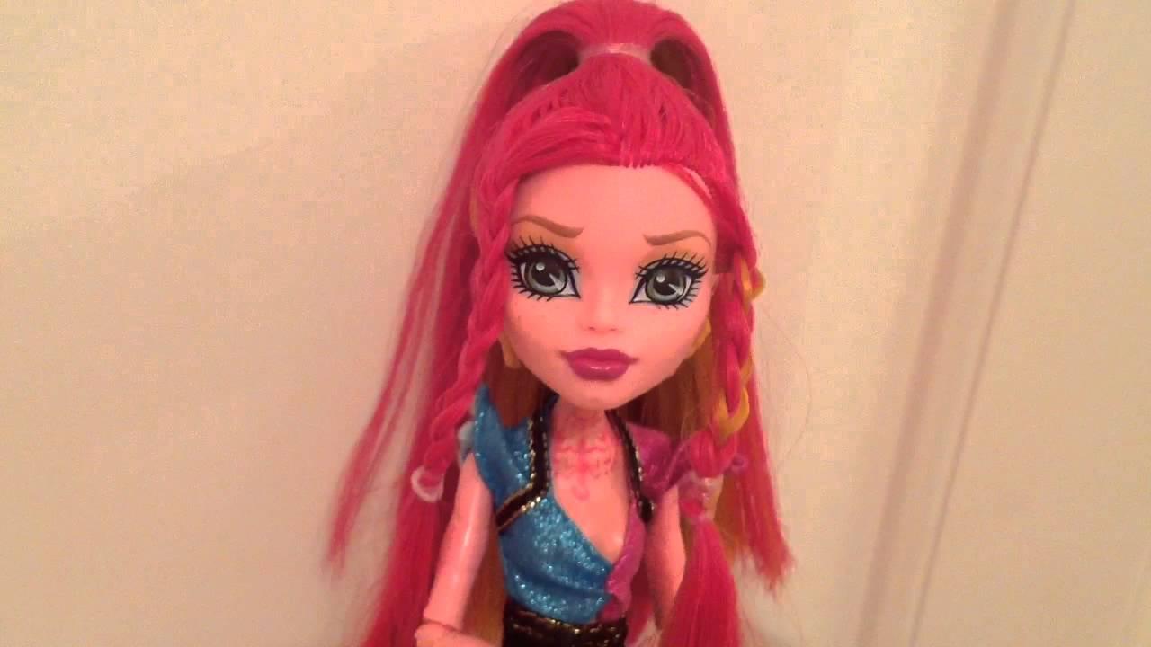 Причёски для кукол своими руками 17