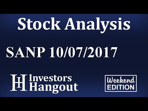 SANP Stock Analysis 10-07-2017