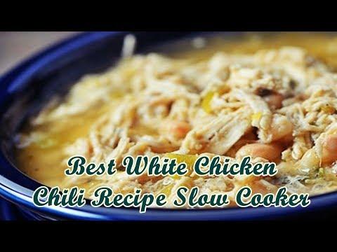 Best White Chicken Chili Recipe Slow Cooker