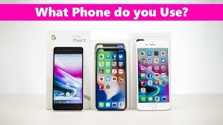 Best SmartPhone 2017 One Plus 5T iPhone X Pixel 2 Note 8 - Which one is your favourite?