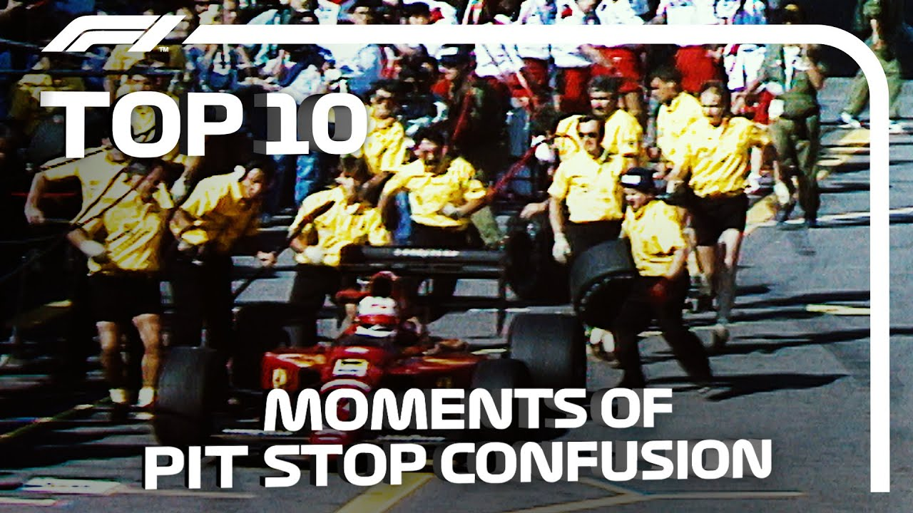 Top 10 Confusing Pit Stops