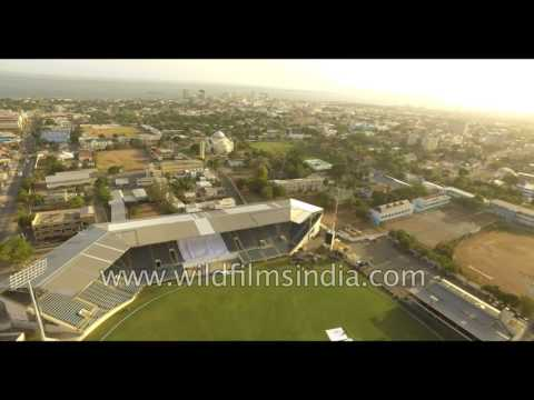 Sabina Park, the home of the Kingston Cricket Club in Jamaica