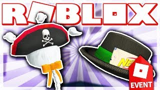 HOW TO GET NERF ZOMBIE STRIKE FEDORA & GHOSTLY TRICORN HAT!! (ROBLOX HALLOW'S EVE EVENT - Blox Hunt)