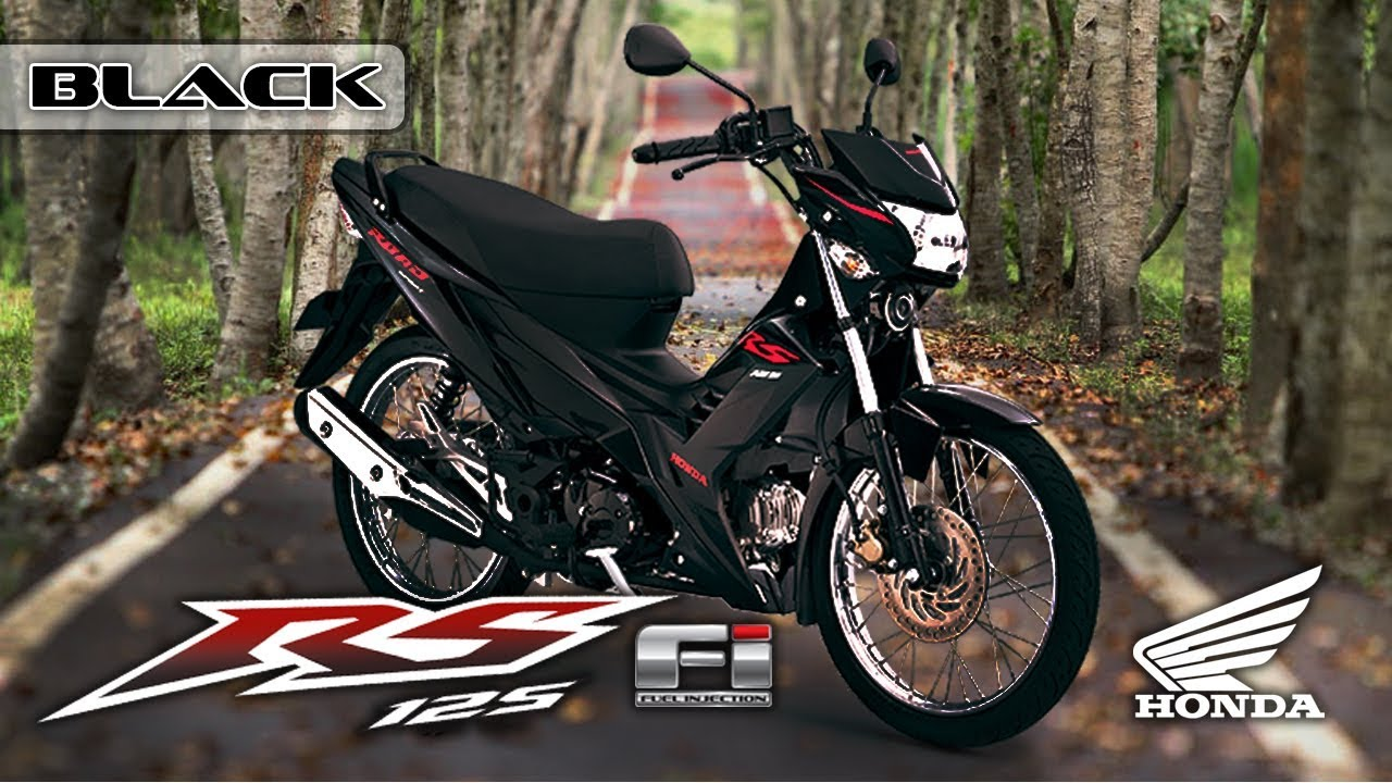 Rs 125 fi color black 2017 edition honda philippines motorsiklo