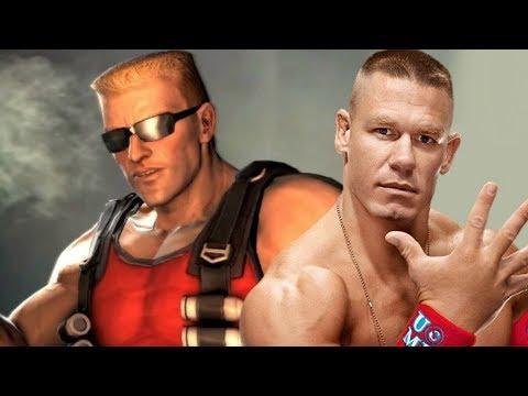 John Cena as Duke Nukem