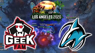 ONLINE LA MAJOR !!! GEEKFAM vs ADROIT - ESL One Los Angeles 2020 Regional Online DOTA 2