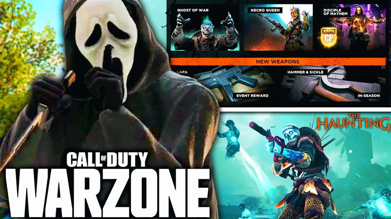Download Call Of Duty WARZONE: The HAUNTING EVENT REVEALED! (New Weapon, Halloween Mode, & More)