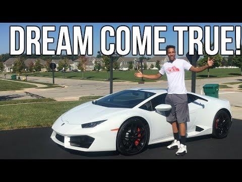I Drove A Lamborghini Huracan!!! Here