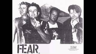 Fear - Let's Have A War