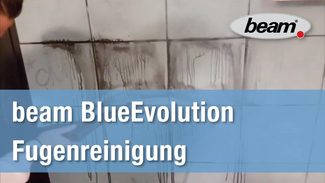 fliesenfugen mit dem beam blueevolution dampfsauger reinigen youtube. Black Bedroom Furniture Sets. Home Design Ideas