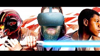REAL LIGHTSABERS In VIRTUAL REALITY!! Be A Jedi In VR | LightBlades VR |