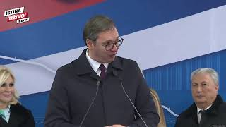 POČINJE IZGRADNJA AUTO-PUTA RUMA-ŠABAC-LOZNICA! Predsednik Vučić na svečanom početku radova!
