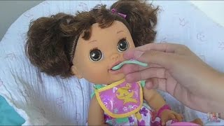 Feeding & Changing Baby Alive Avah