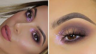 GLITTERY INNER CORNER MAUVE SMOKEY EYE | 1 Eyeshadow Palette