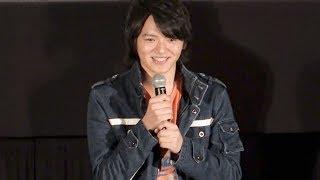 新宿ピカデリーで21日、『劇場版 ウルトラマンジード つなぐぜ!願い!!...
