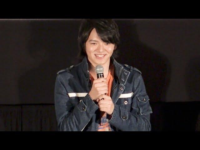 濱田龍臣、17歳のさわやかさをアピール!『劇場版 ウルトラマンジード つなぐぜ!願い!!』完成披露試写会 その1