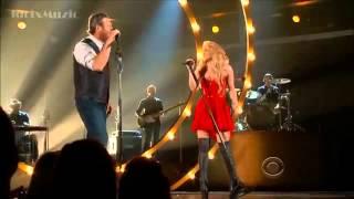 Смотреть клип Shakira   Medicine feat Blake Shelton   ACM's 2014