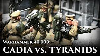 Astra Militarum vs Tyranids | The Battle of Morgan's Reach: Part 2 | 40k Narrative Battle Report