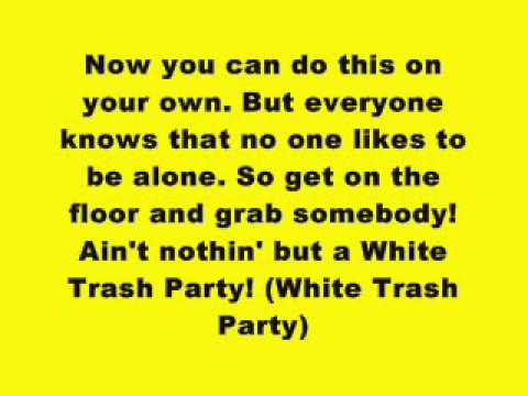 Eminem  White Trash Party Lyrics