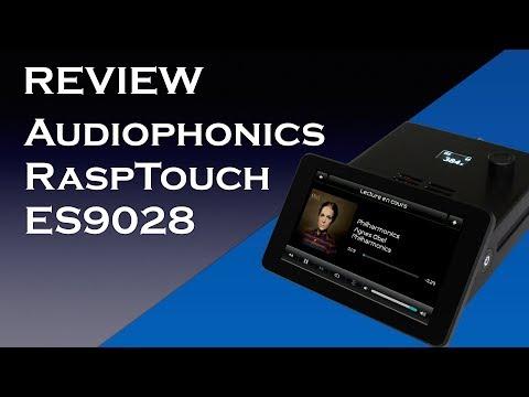 Audiophonics RaspTouch ES9028 running PiCorePlayer