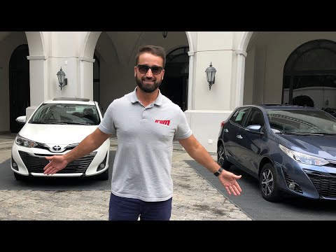 Avaliação Toyota Yaris XLS 2018/ Vrum Brasília
