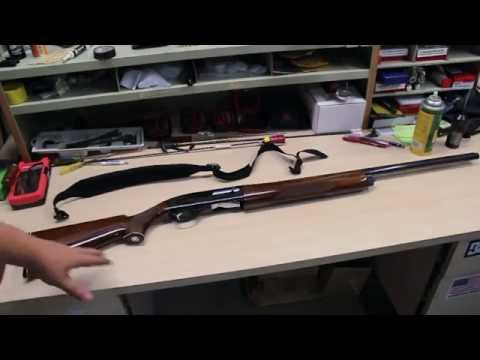How to take down S&W Model 1000 12 gauge semi auto shotgun
