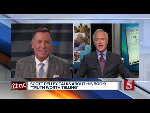 """Scott Pelley talks about his book: """"Truth Worth Telling"""""""